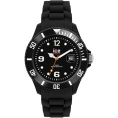 Ice-Watch Black Sili Forever Small Size: Built for quality, the watch has silicone strap that is soft on the wrist. Practical and reliable watch from Ice-watch. Wear for everyday use and can even be taken to the pool. Ice Watch, Men's Watches, Watches For Men, Jewelry Watches, Wrist Watches, Fashion Watches, Men Fashion, Style Fashion, Fashion Jewelry