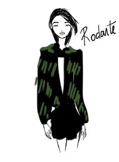 Rodarte New York Womenswear S/S 2013 by Rei Nadal.