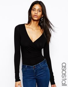 ASOS TALL Exclusive Wrap Front Body