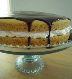 Allergy Free Boston Creme Pie