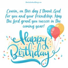 Happy Birthday Beautiful Cousin, Happy Birthday Wishes For A Friend, Happy Birthday Cousin, Happy Birthday Template, Happy Birthday Messages, Happy Birthday Greetings, Birthday Cards, Birthday Gifts, Happy Birthdays