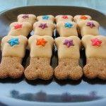 Home made peanut butter dog bone treats | Chelsea Dogs