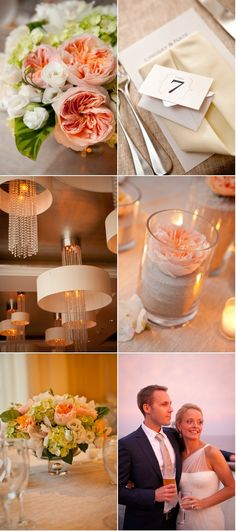 Long Beach Wedding by Tory Williams Photography | Style Me Pretty