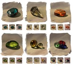 From nature: gems by JuliaTar on DeviantArt