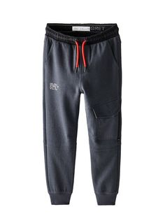 Plush pants with elastic waistband and adjustable front drawstring. Front flap pockets with snap button closure and recessed zipper. Seam detail and back patch appliqué with pockets and piping. Joggers, Sweatpants, Kids Fashion Boy, Athletic Pants, Pocket Detail, Plush, Zara, Pajamas, Zipper