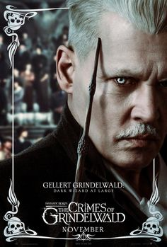 Gellert Grindelwald, Crimes Of Grindelwald, Dark Wizard, 2020 Movies, Harry Potter Pictures, Wolfstar, Fantastic Beasts And Where, Moving Pictures, Johnny Depp
