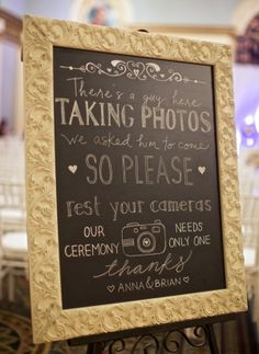 """Smartphones at weddings: Are shutterbugs ruining the bride's big day?"" - Good article. Something to keep in mind."