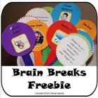 """The idea behind these """"Brain Breaks"""" is that you have a stack of ideas for activities and games for when your class need to give their brains a lit..."""