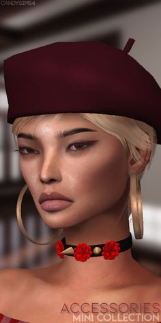ACCESSORIES MINI COLLECTIONANNIE - CHOKER10 SWATCH COLORSYOU WILL FIND IN ACCESSORIES/NECKLACECARMEN - CHOKER5 SWATCH COLORSYOU WILL FIND IN ACCESSORIES/NECKLACEBONNIE - EARRINGS PATREON... The Sims, Best Sims, David Sims, Ts4 Cc, Sims 4 Custom Content, Electronic Art, Cat Ears, Swatch, Piercings