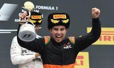 """Admite """"Checo"""" Pérez que no disfrutó mucho en Monza"""