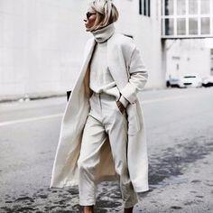 """116 Likes, 1 Comments - Style Range (@stylerange) on Instagram: """"Ivory on ivory. . . #fashion #style #blogger #fblogger #girl #stylerange #winter #winterfashion…"""""""