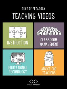 Each one of my FREE made-from-scratch videos has been created to help you become a better teacher. They offer clear & simple explanations related to instruction, classroom management, technology, and other teacher concerns. Start viewing now! #CultofPedagogy