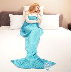 A blanket that'll (at long last!) turn you into a mermaid. | 57 Products On Amazon Our Readers Loved In 2016