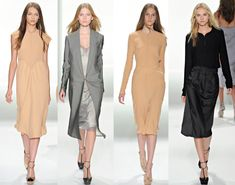 Gowns for Brides Over 40   ... Klein Spring 2012 RTW collection – best dresses for women over 40