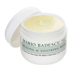 Rosacea is different from acne, so you have to be careful about what ingredients are in your skincare products, Torok says. Avoid gritty scrubs and products that contain salicylic acid or alcohol because they can cause more irritation. The Mario Badescu Healing and Soothing Mask is formulated with ingredients that reduce redness and irritation.