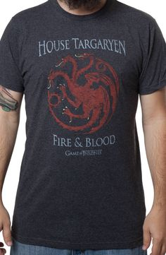 House Targaryen Shirt: TV Shows Game Of Thrones T-shirt