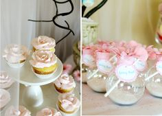 Sweet Fairy Party  -- favors & cupcakes