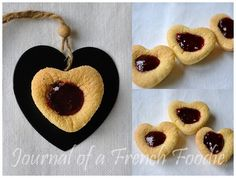 Barquettes (soft sponge biscuits with a jam centre) in the Thermomix