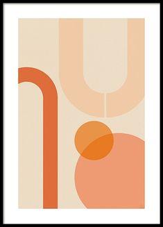 Moderne grafiske plakater og posters | Grafisk plakat | Desenio