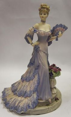 Porcelain Lady Figurine.