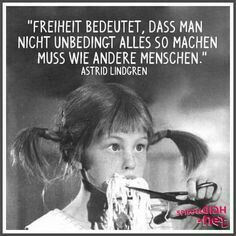 Bildergebnis für astrid lindgren zitate - Home Decor Wholesalers Valentine's Day Quotes, Words Quotes, Love Quotes, Inspirational Quotes, Sayings, German Quotes, True Words, Cool Words, Slogan