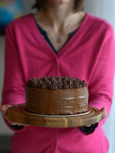 Colors in the Kitchen: Tejmentes csokitorta málnával, mogyorókrémmel