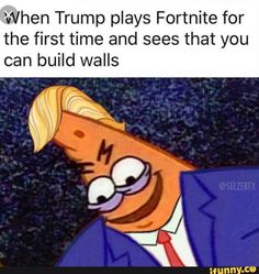 Top clean Humor Read these Top Famous Fortnite memes and Funny quotes Memes Humor, Funny Gaming Memes, Super Funny Memes, Spongebob Memes, Funny Relatable Memes, Funny Games, Stupid Funny, Funny Quotes, Hilarious
