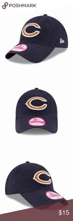 Chicago Bears Women s Glisten 9TWENTY Adj Hat Brand New Officially Licensed  with tags. This Chicago 76930d2fb