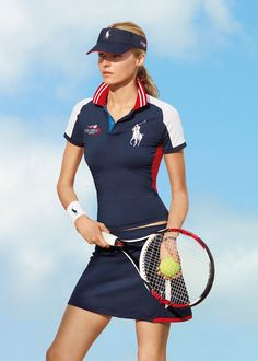 Official Sponsor of The US Open Presenting our limited-edition styles from the internationally renowned tennis tournament US Open Explore Now Tennis Dress, Tennis Clothes, Tennis Fashion, Sport Fashion, Sport Chic, Sport Girl, Mode Tennis, Vestidos Polo, Tennis Photography