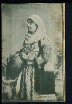 www.villsethnoatlas.wordpress.com (Grecy, Greeks) 1916 Postcard, Greece Greek Costume Types | eBay