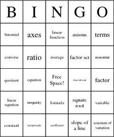 Bingo Card Creator