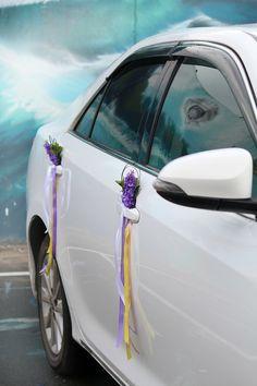 Украшение машин на свадьбу | 819 Фото идеи