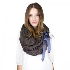 Chunky Brown Knit Scarf https://9thelm.com/best-sellers/infinity-scarves-140.html