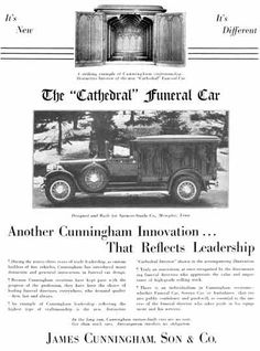 James Cunningham, Son & Co.,  Funeral Car