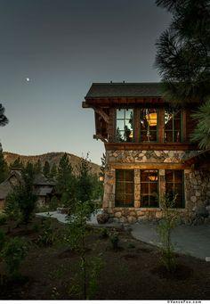 Custom mountain retreat built by NSM Construction in Truckee, CA