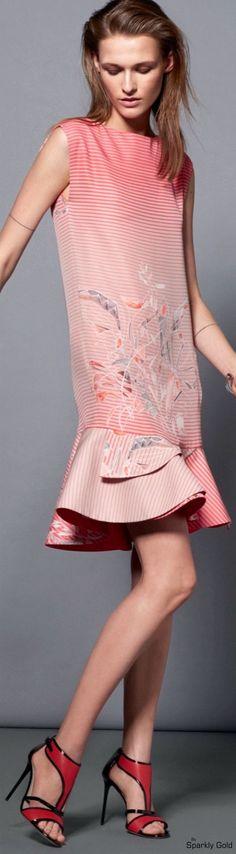 Giorgio Armani Resort 2016 women fashion outfit clothing style apparel @roressclothes closet ideas