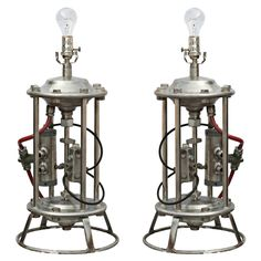 1stdibs - Pair Of Industrial Style Steampunk Table Lamps explore items from 1,700  global dealers at 1stdibs.com