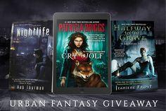 #UrbanFantasy #Win any 3 Urban Fantasy #Books #Giveaway