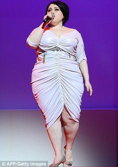 'I want to make the IKEA of clothes for fat girls and boys': Beth Ditto reveals plans for her own plus-size clothing range - (I love Beth Ditto!)