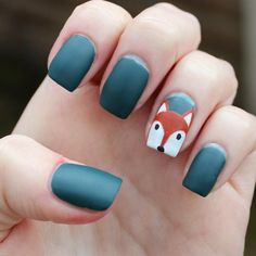 Dahlia Nails: Easy Autumn Fox For Beauty At Tesco Nail Spot, Fox Nails, Sns Nails Colors, Stiletto Nail Art, Coffin Nails Long, Fall Nail Designs, Pretty Face, Dahlia, Fancy