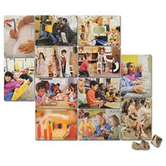 Kaplan My School Puzzle Set (set of 12)