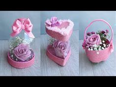 Paper Flowers Craft, Paper Crafts Origami, Flower Crafts, Diy Home Crafts, Diy Arts And Crafts, Diy For Kids, Crafts For Kids, Chinese Crafts, Basket Crafts
