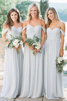 Invite personal bridal event with our bridesmaid evening wear, styles & ideas. Purchase by shade, value, design and design trend to design your desired excellent look.  #Bridesmaid Dresses