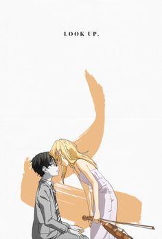Arima Kousei and Miyazono Kaori - Your lie in April / Shigatsu wa Kimi no Uso