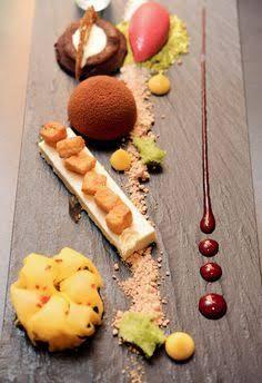 Trio of tasting desserts
