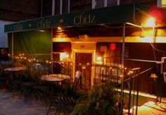 Clydz is a speakeasy-style restaurant and bar that's actually located underground.