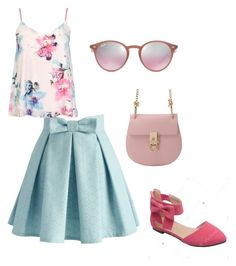 """""""наив"""" by on-style on Polyvore featuring мода, Chicwish, Dorothy Perkins и Ray-Ban"""