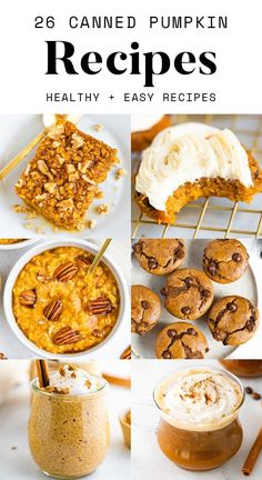 Put your leftover canned pumpkin to good use with these recipes. Here you'll find tons of inspiration from your healthy pumpkin bread to pumpkin burgers to pumpkin dog treats.
