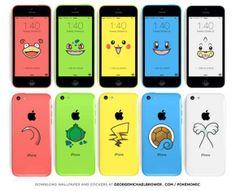 iPhone 5c Pokemon Wallpaper!