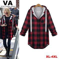 Cheap blusas de invierno mujer casual , ropa de gran patio, además de las mujeres del tamaño , camisa a cuadros para las mujeres otoño de 2014 de la moda de ropa femininas, Compro Calidad Blusas y Camisas directamente de los surtidores de China:                                                                              Nota:
